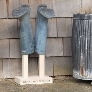 Personalised Welly Boot Stand