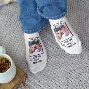 Not Done A Bad Job Photo Upload Socks