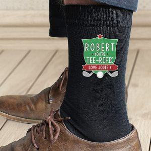 Personalised Tee-Rific Mens Socks