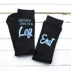 Personalised Total Leg End Socks