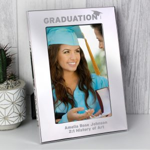 Personalised Graduation 4x6 Silver Photo Frame