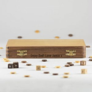 Personalised Backgammon Set