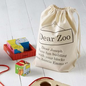 Personalised Dear Zoo Puzzle Block