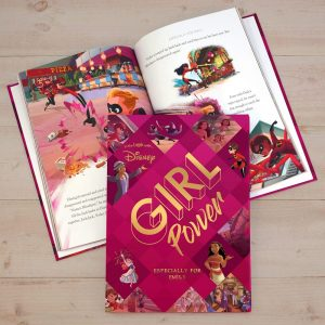 Personalised Disney Girl Power Collection Book
