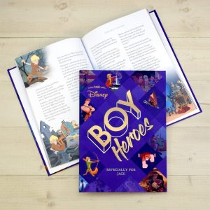 Personalised Disney Heroes for Boys Collection Book