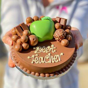 Personalised Mini Smash Cake for a Smashing Teacher