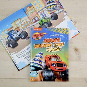 Personalised Nickelodeon Blaze & The Monster Machines Birthday Softback Book