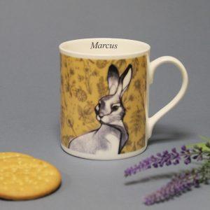 Personalised Watership Down Balmoral Mug – Clover