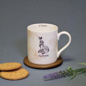 Personalised Watership Down Mug – Clover