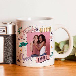Chosen Family Photo Upload Mug