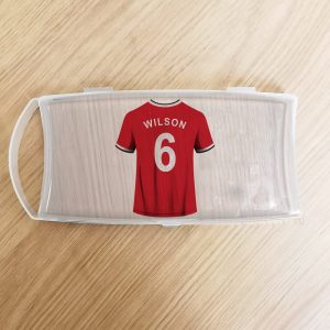 Personalised Football Plastic Pencil Case