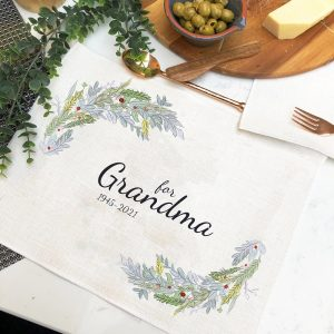 Personalised In Memory of Placemat
