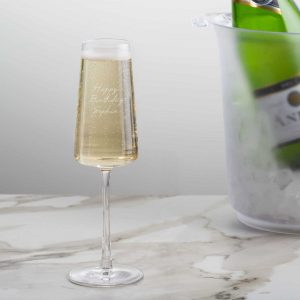 Personalised Power Champagne Flute