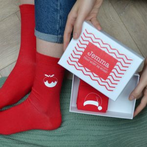 Obligatory Christmas Socks & Personalised Box