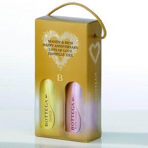 Personalised Bottega Giftset – Rose & Gold