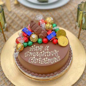 Personalised Christmas Smash Cake