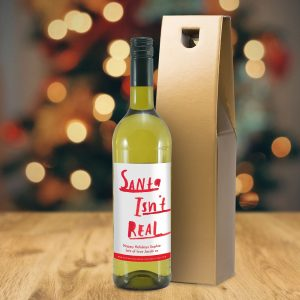 Personalised HotchPotch Santa White Wine