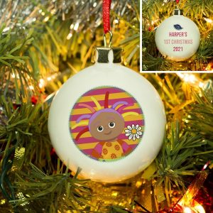 Personalised In The Night Garden Upsy Daisy Bauble 1st Christmas Bauble