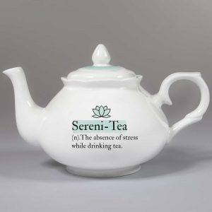 Personalised Sereni-Tea Tea Pot