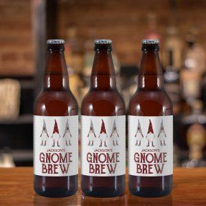 Personalised Set of 3 Beers – Gnome Brew