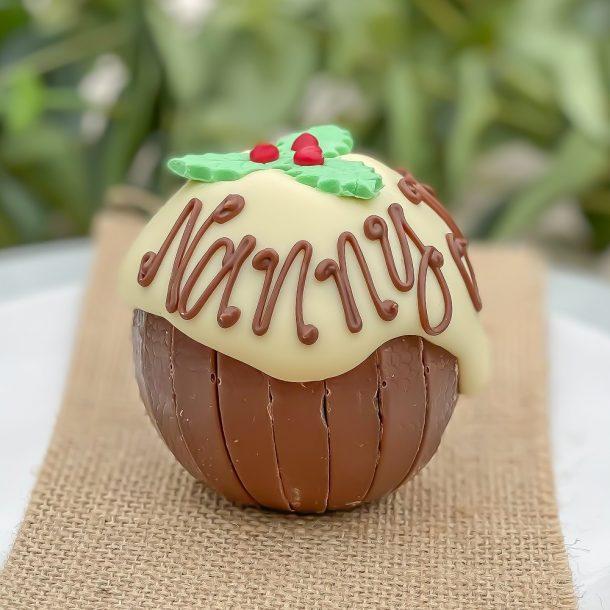 Personalised Terry's Chocolate Orange Christmas Pud