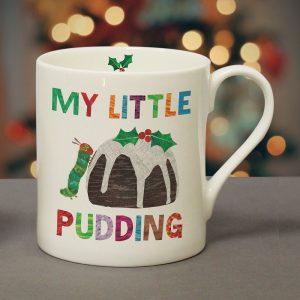 Personalised Very Hungry Caterpillar My Little Pudding Balmoral Mug