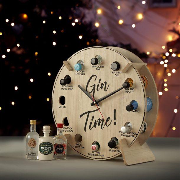 Gin Time Advent Calendar Clock