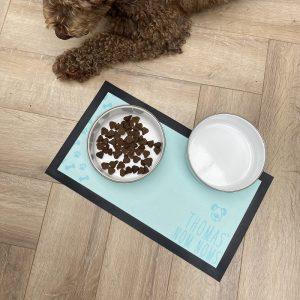 Personalised Nom Nom Pet Bowl Mat