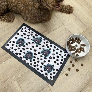 Personalised Pet Photo Bowl Mat