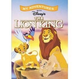 Personalised Lion King Book