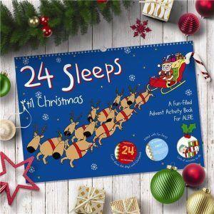Personalised A3 24 Sleeps 'til Christmas