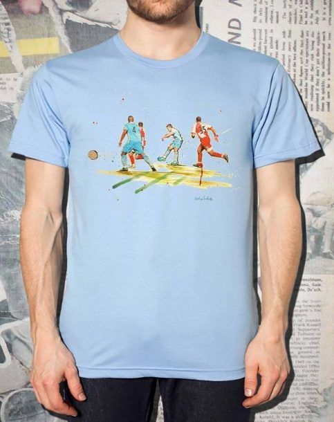 Agueroooooo - Man City T-Shirt