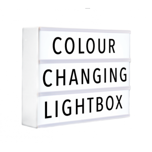 Colour Changing Lightbox