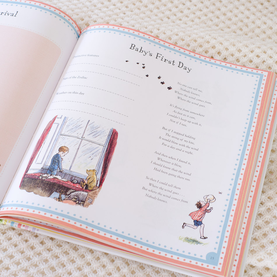 Wedding Gift Record Book: Winnie The Pooh Baby Record Book