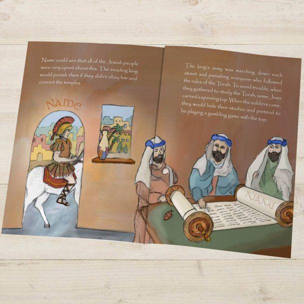 Personalised Hanukkah Story