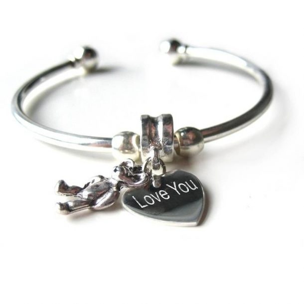 Personalised Teddy Bangle