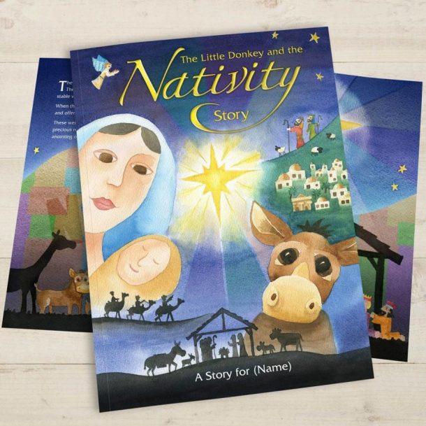 Personalised The Nativity Story - Hardback Book
