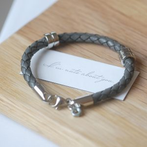 Nuts About You Leather Bracelet