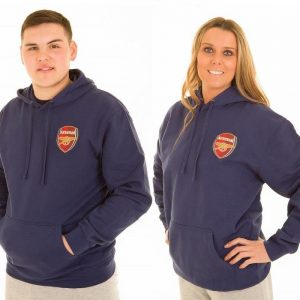 Personalised Official Arsenal Adult Hoodie