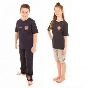 Official Arsenal Kids 3 Piece Pyjamas