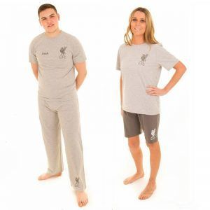 Personalised Official Liverpool Adult 3 Piece Pyjamas