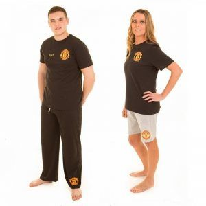 Personalised Official Man Utd Adult 3 Piece Pyjamas