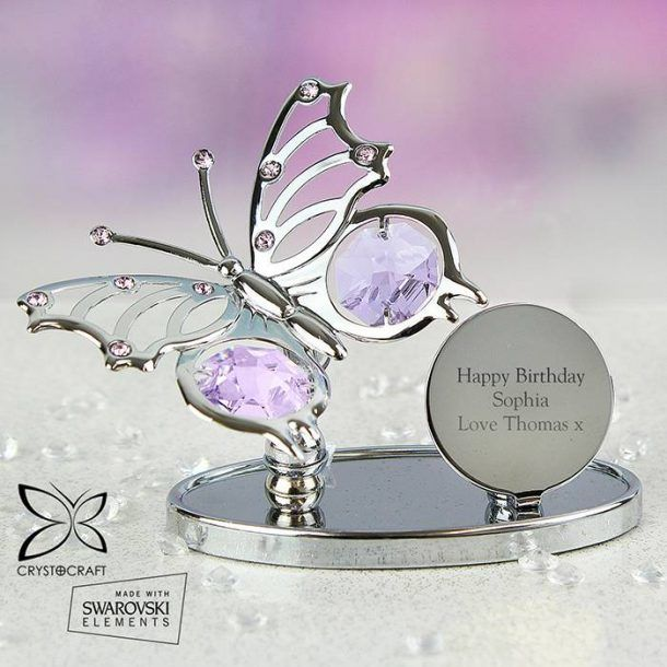Personalised Butterfly Ornament
