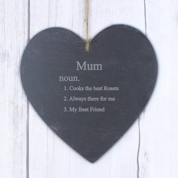 Personalised Word Definition Slate