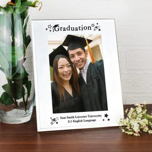 Personalised Mirrored Graduation Frame