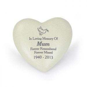 Personalised Dove Memorial