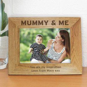 Personalised Mummy & Me 5x7 Photo Frame