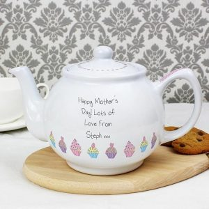 Personalised Mother's Day Cupcake Teapot