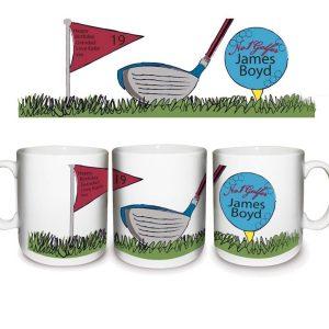 Personalised No1 Golfer Mug