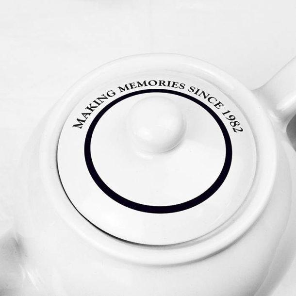 Personalised Full of Love Teapot